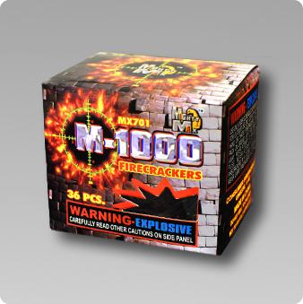 Fireworks  TNT Fireworks  RED DEVIL FIRECRACKER M1000